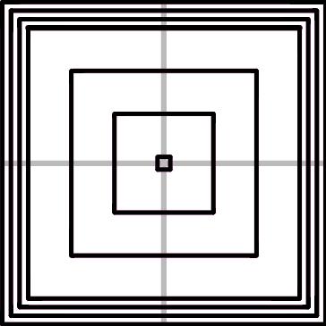 充填パターン:Concentric(351.80mm/5分30秒)