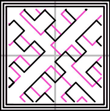 充填パターン:Hilbert Curve(332.82mm/5分28秒)