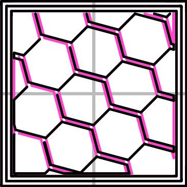 充填パターン:Hanycomb(362.73mm/5分39秒)