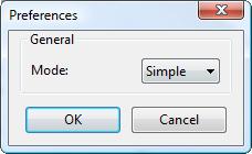 Preferences.