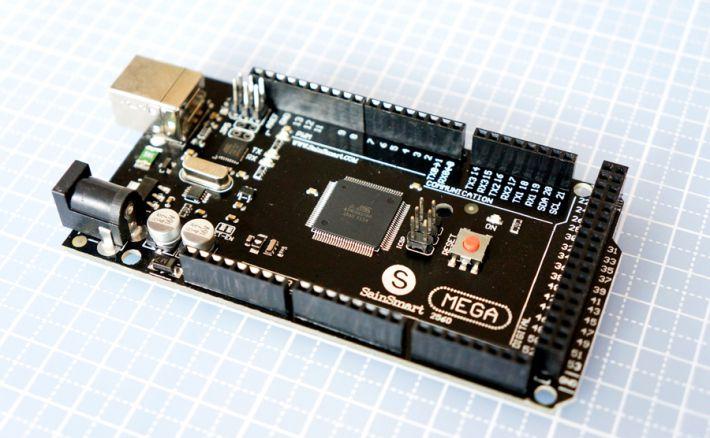 Arduino MEGA2568の互換機のSainSmart Mega