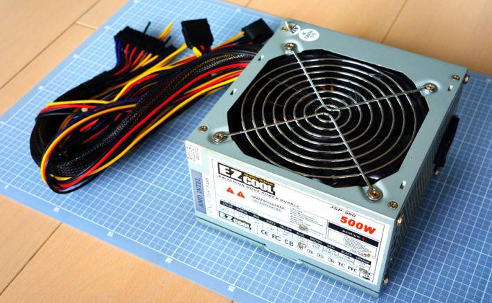 ATX電源EZCOOL 500w
