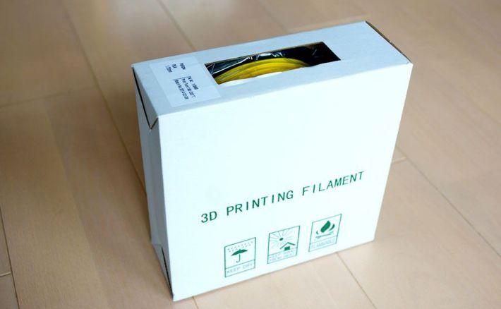PLA1.75mmフィラメントの箱の画像