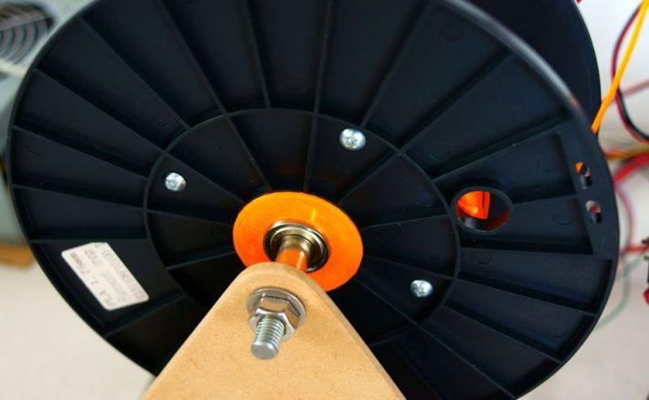 自作スプールホルダーの画像