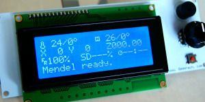 LCDコントロールパネルをRamps1.4で使ってみた