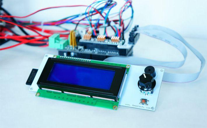 LCDコントローラーの全体画像