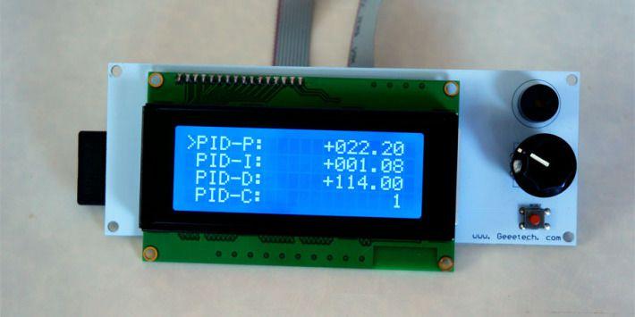LCDコントローラーのPIDの画像