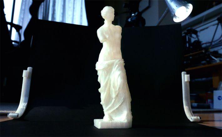 3dプリントしたミロのヴィーナス像