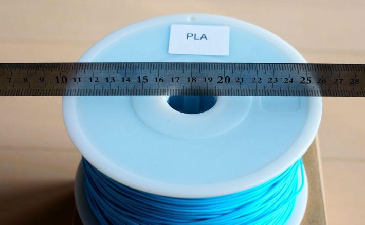 新しいフィラメントPLA1.75mmライトブルー