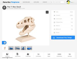The-T-Rex-Skull-by-Curriculum
