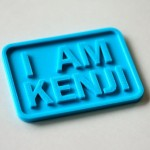 I AM KENJI のプレート