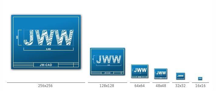 Jw-winのjwwファイルアイコン