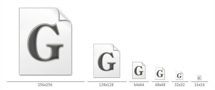 Windows風Gコードファイルアイコン