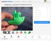 #3DBenchy - The jolly 3D printing torture-test by CreativeTools - Thingiverse