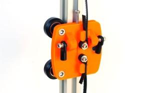 デルタ型3Dプリンターを作る。(4) -垂直キャリッジ完成(←まだココ)