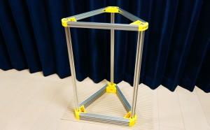 デルタ型3Dプリンターを作る。(5) -フレーム完成