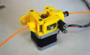 Airtripper Bowden Extruder をプリント
