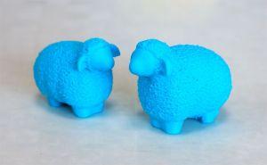 "Wooly Sheep 年賀状用に来年の干支""羊""を3Dプリント"