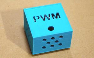 PWMモーター速度可変キットとケースの製作