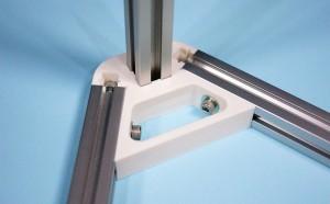 デルタ型3Dプリンターを作る。(3) -コーナーパーツを試作